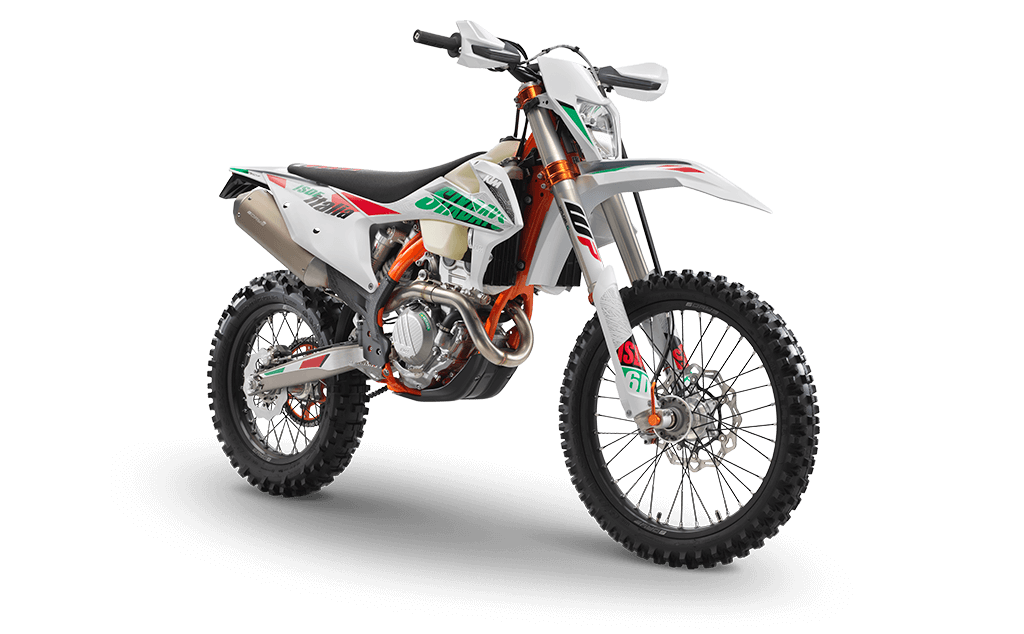 Moto ktm 350 exc f six days 2021- Auteco